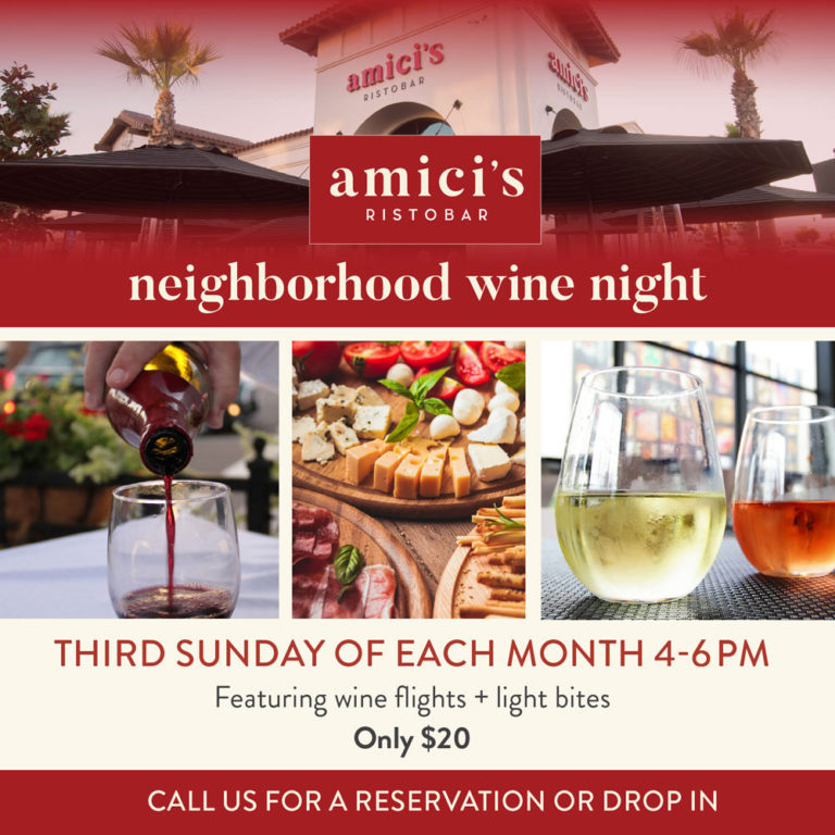 Highlands Ranch Google Maps: Neighborhood Wine Nights At Amici's